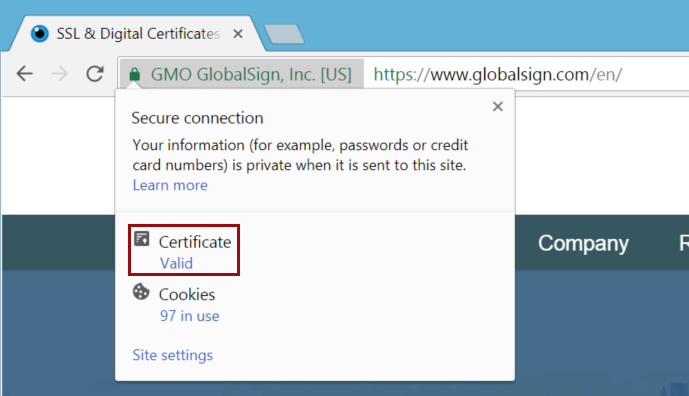 How to view SSL certificate details in Chrome 63
