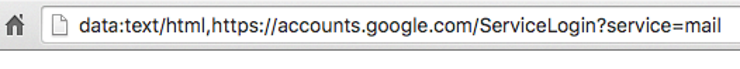 Check and study the URL BEFORE logging any information