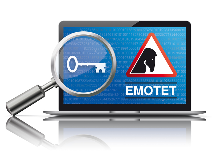 world's most dangerous malware emotet on computer