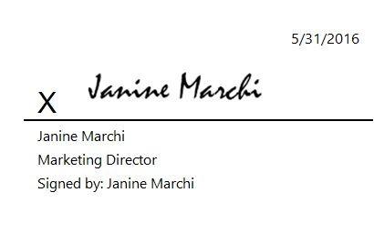 Janine Digital Signature