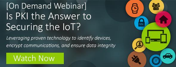 Watch IoT Webinar