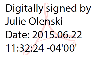 Timestamped Digital Signature