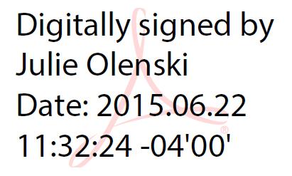 Timestamped Digital Signature
