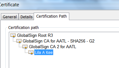AATL Certification Path