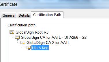 AATL Certification Path