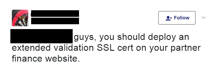 ev ssl certificate shaming