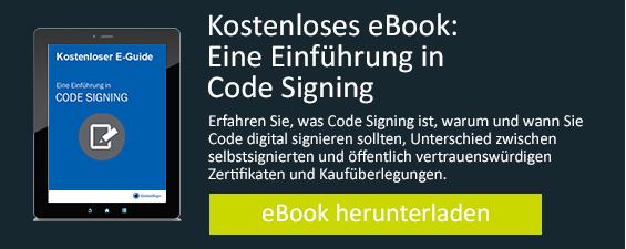 Kostenloses eBook Eine Einfuhrung in Code Siging