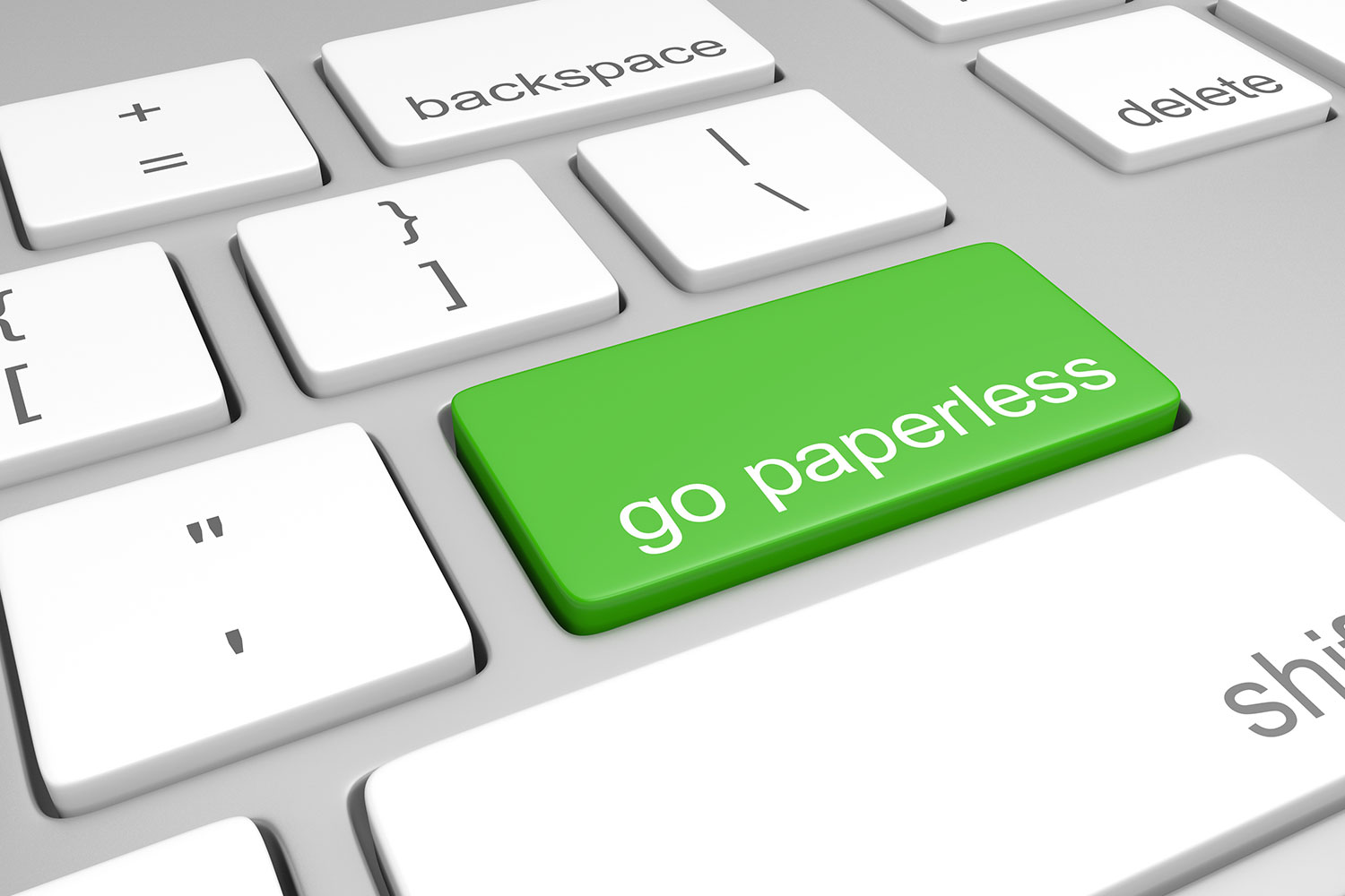 Totally Green Reasons to Go Paperless in 2019
