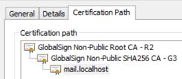Certificates for Internal Servers
