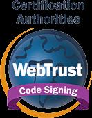 WebTrust Certificate Authority CodeSigning