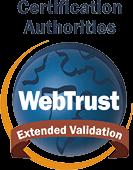 Extended Validation WebTrust for Certificate Authorities