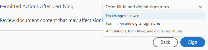 Option 1. Annotations, form fill-in, and digital signatures.