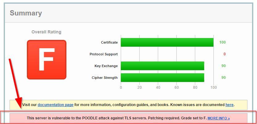 poodle-vulnerability-check