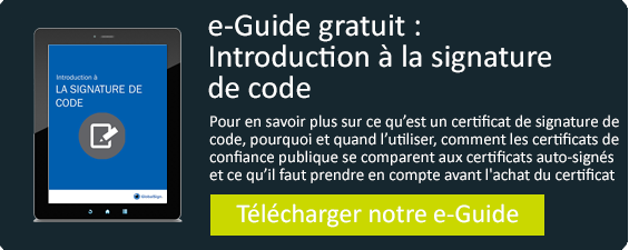 e Guide gratuit Intro la signature de code