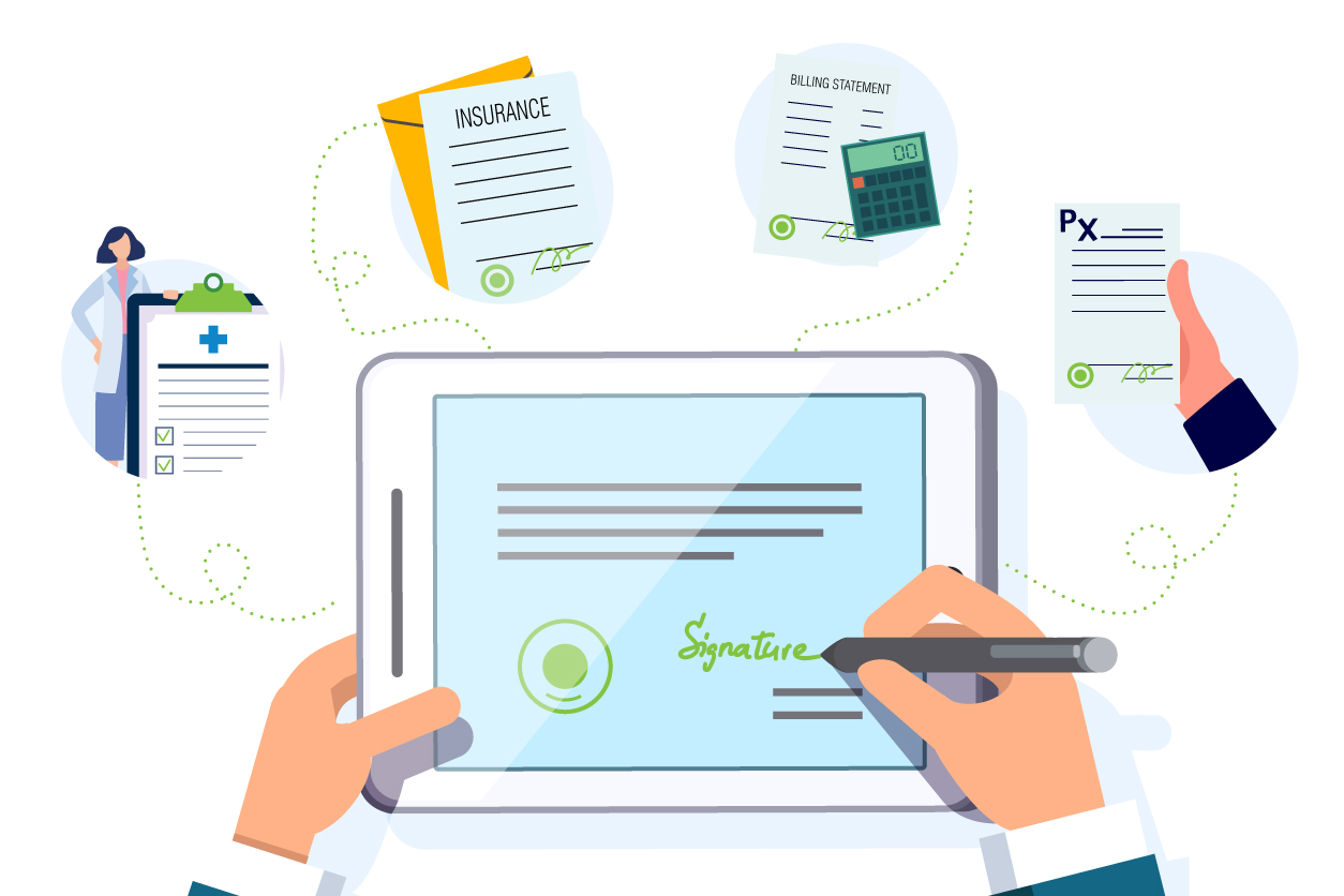 Can Digital Signatures Really Contribute to the Digital Transformation of the Healthcare Sector?