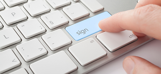 Identity in Action - Instant Digital Signatures From Anywhere