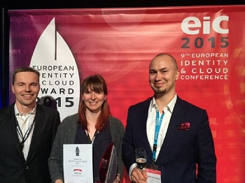 GlobalSign IAM Customer DNA Honored with EIC Award